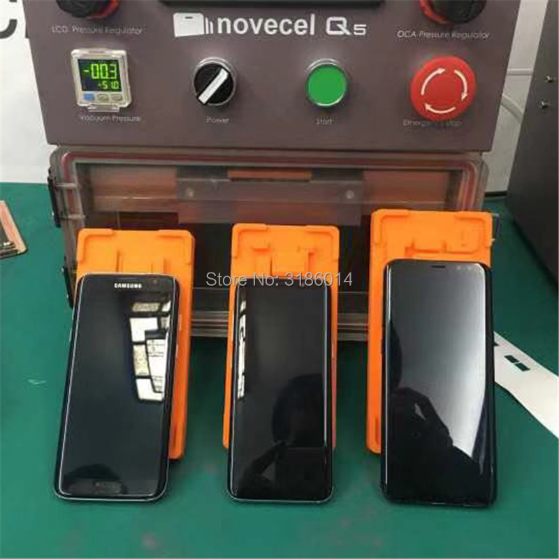 Novecel In Frame Laminating Mould For Samsung Galaxy S7edge S8plus S9plus S9 Note8 Note9 LCD OCA Glue Touch Screen Laminate Mold in Power Tool Sets from Tools