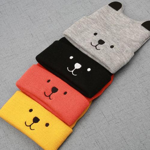 Pudcoco Cartoon Bear Hat For Kids 2