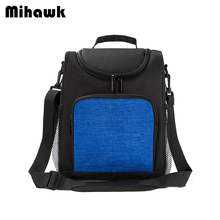 Mihawk Picnic Insulation Bags Heat Insulation Food Container Fresh Keeping Pouch Eco-Friendly Ice Bag Wine Cooler Tote Accessory