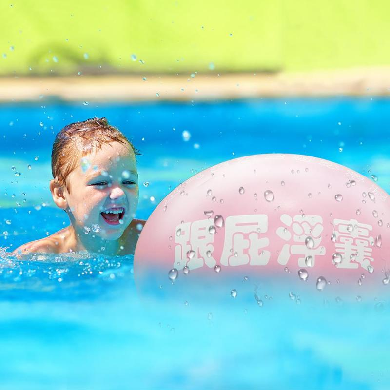 1pcs Kids Safety Floating Ball With Rope Baby Kids Inflatable Swimming Ring Multifunction Circle Swin Accessories