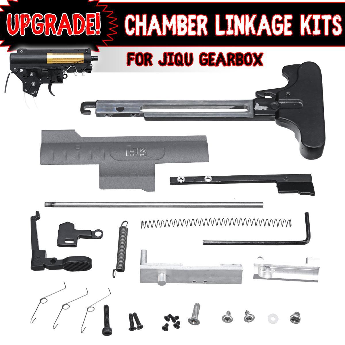 Kit de tringlerie de chambre en métal poignée curseur ressort pour boîte de vitesses Jiqu Gel Ball blaster jeux d'eau jouets pistolets accessoires de remplacement