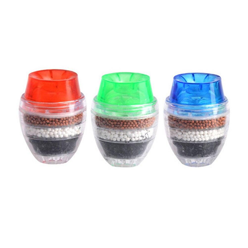 3 Piezas De Filtro De Agua Mini Casa Cartucho Grifo Filtro Purificador De Agua De Carbón Para La Cocina De Interior Clasificar Primero Entre Productos Similares