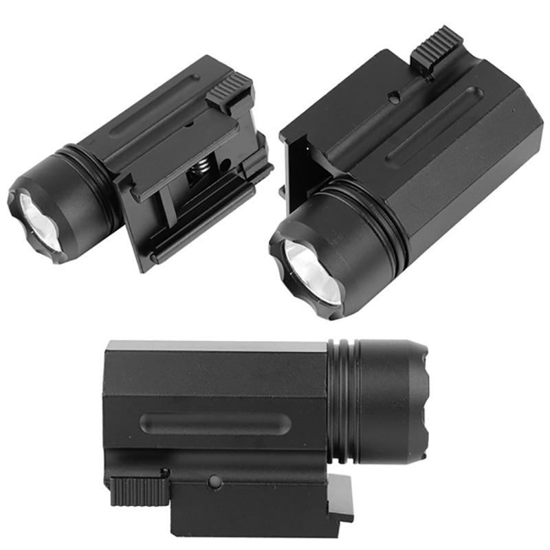 XANES LF14 Hang Type Rail Portable Foregrip Flashlight Shotgun Tactical Hunting  Torch Mini Pistol Light