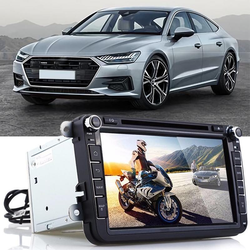 8 дюймов Автомобильный gps автомобильный навигатор стерео dvd плеер автомобиля gps навигация Bluetooth Радио для Volkswagen gps Coche Прямая доставка