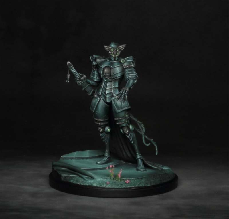 Fantasy Series <font><b>Resin</b></font> Model Ghost Knight Figure Scale Model DIY Toy Adult Hobby Collection Free Shipping image