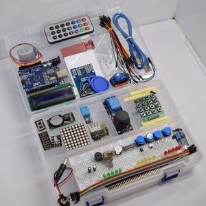Image 5 - TZT أحدث عدة بداية تتفاعل لاردوينو UNO R3 نسخة مطورة التعلم جناح مع صندوق البيع بالتجزئة