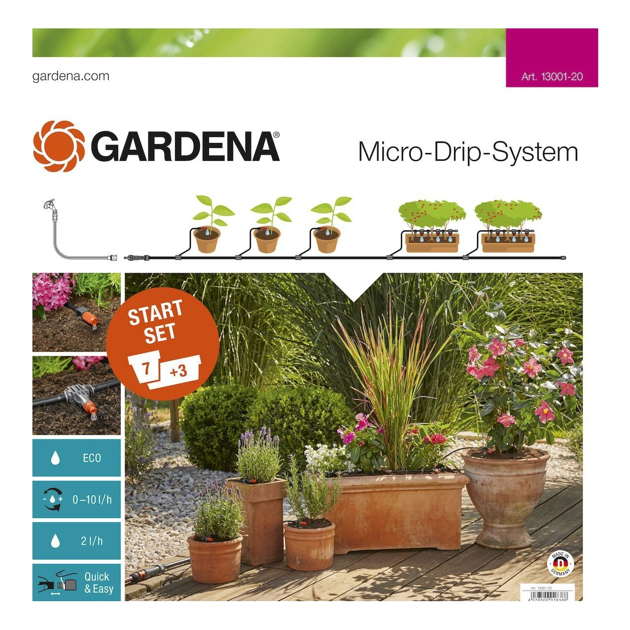 Watering systems GARDENA 13001-20.000.00 watering systems gardena 01407 2000000