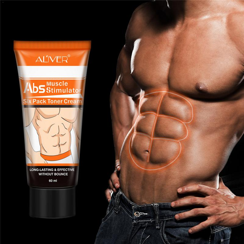 Men's Abdominal Muscle Cream Anti Cellulite Slimming Fat Burning Cream Body Firming Strengthening Belly Muscle Tightening Abdomi