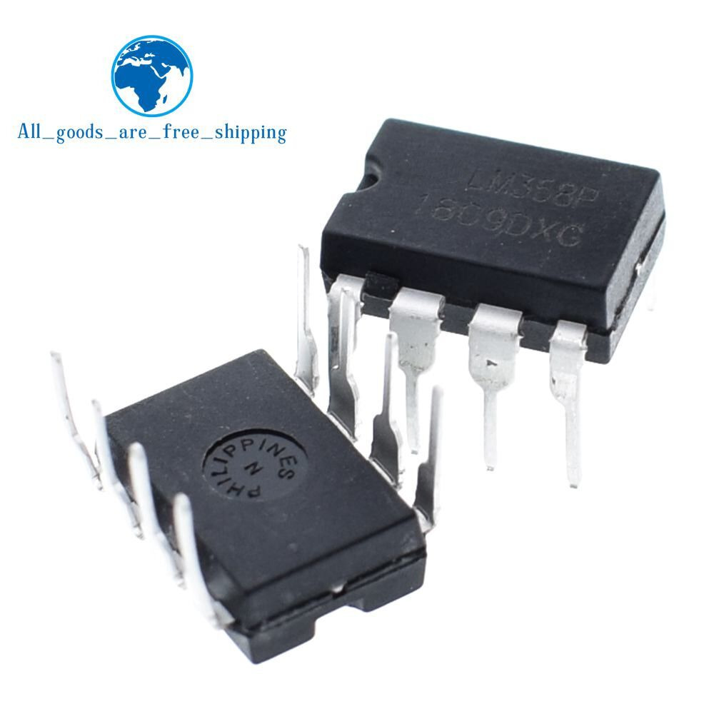 Lot de 10 circuits intégrés LM393N