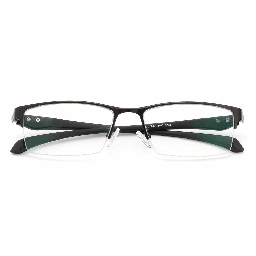 Nuevo Sol fotocrómico miopía gafas opticas hombres estudiante miopía acabado gafas graduadas Marco de gafas medio borde-1,0-4,0 - 6