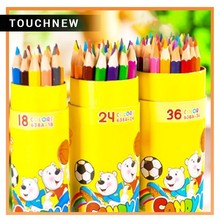 Best 36 student bear painting 638A barrel pencil lead color pencils school stationery gift Safety