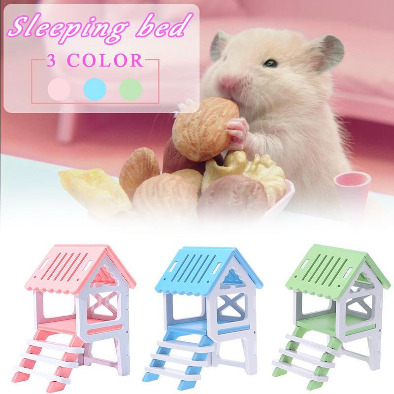 New Fashion Hamster Loft Game Toy Hamster Squirrel Sleeping Loft Toy Small font b Pet b
