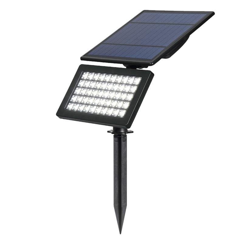 50 Led Solar Garden Light 2 Modes Outdoor Adjustable And Auto On/Off Security Lighting For Yard Garden(White)