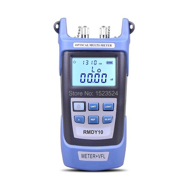 2 in 1 광 파워 미터 70 ~ + 3dbm 및 광섬유 케이블 테스터 시각 장애 탐지기 10 mw
