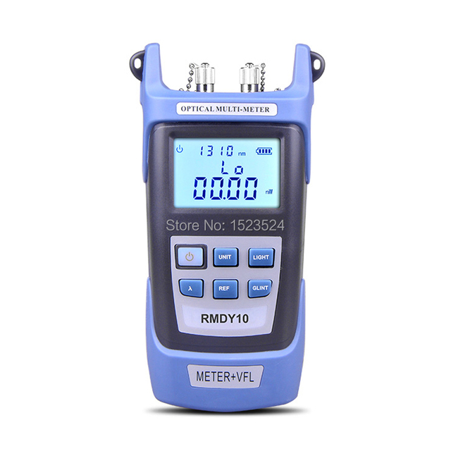2 in 1 Optical Power Meter  70~+3dBm and Fiber Optic Cable Tester Visual Fault Locator 10mw