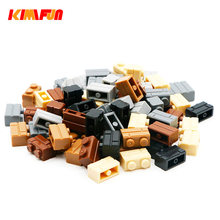 100g/Pack DIY Model Building Blocks Toy Parts Wall Eechnic Building Bricks Children Toys Compatible with(China)