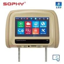 8 дюймов Автомобильный Монитор Универсальный для всех автомобильных USB/SD/MP5 телефонная связь/Зарядка телефона Bluetooth SH8068