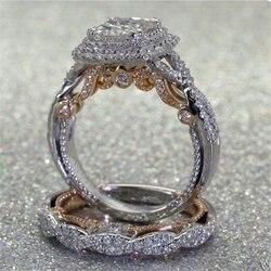 Женское кольцо с бриллиантом Bizuteria Anillos, ювелирное изделие из серебра 925 пробы, ювелирные изделия Анель, 14 к