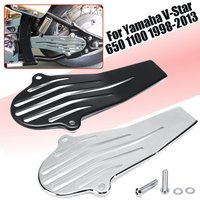 Motorcycle parts Drive Shaft Cover Guards For Yama V Star 650 1100 1998 2003 V Star 1100 1998 2009 Classic Custom Chromed