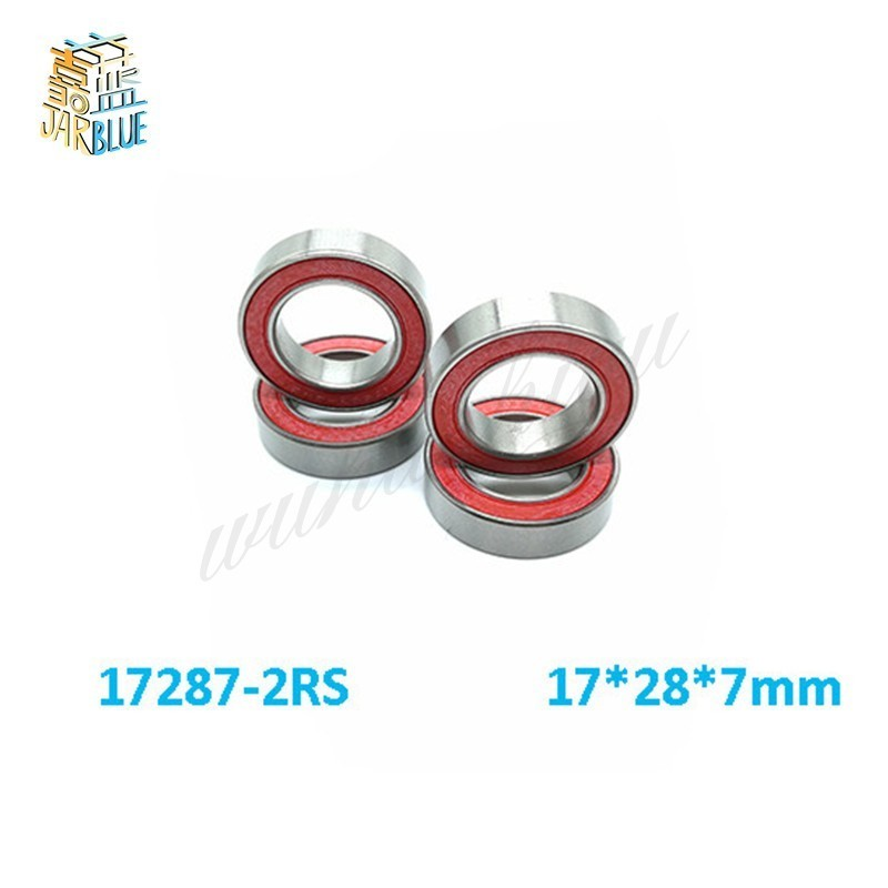 Free shipping 5PCS or 10PCS 17287-2RS 17*28*7mm 17x28x7mm 17287 2RS 17287RS MR17287  bike wheels bottom bracket repair bearingFree shipping 5PCS or 10PCS 17287-2RS 17*28*7mm 17x28x7mm 17287 2RS 17287RS MR17287  bike wheels bottom bracket repair bearing
