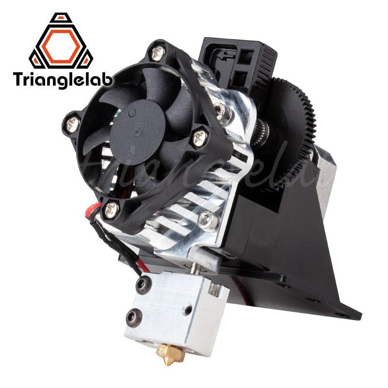 Imprimante 3d Trianglelab titan Aero V6 extrudeuse hotend kit complet extrudeuse titan kit complet reprap mk8 i3 Compatible TEVO ANET - 6