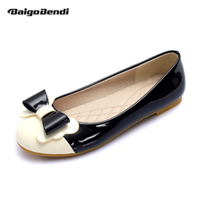 Big Size 10 11 Girls Ballet Flats Lovely Bowknot Ladies Shoes Eur 41 42 43 Woman Classial Pregnant