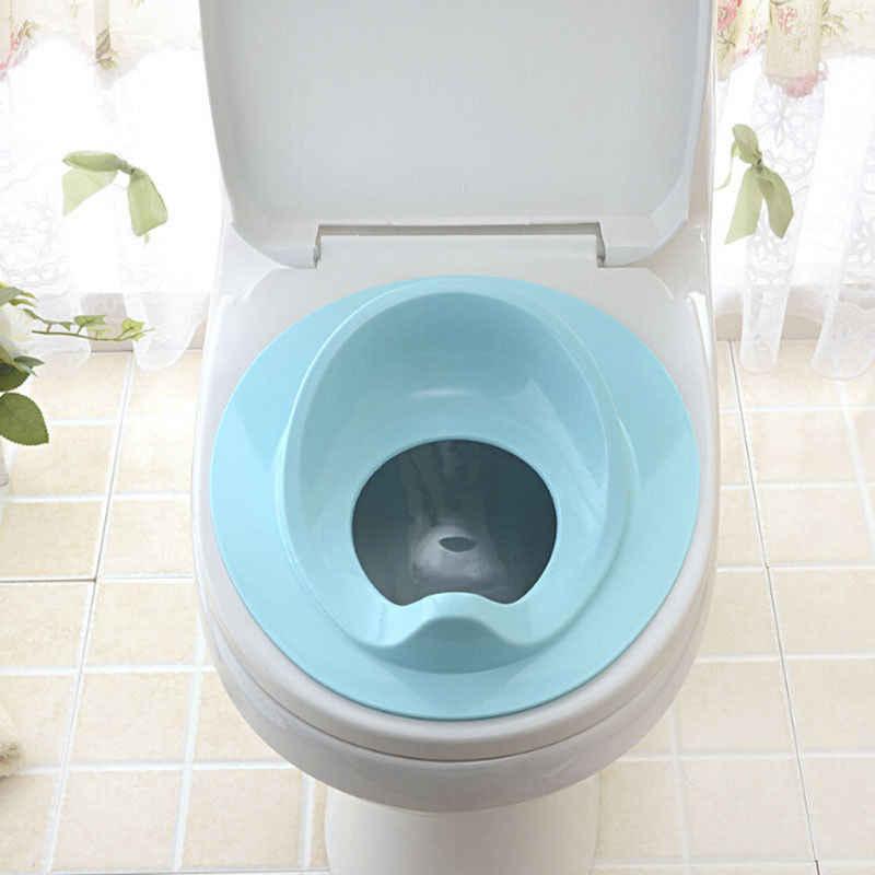 Дети малышей туалет подушки сиденья Пластик маленьких туалетный лоток Training сиденья