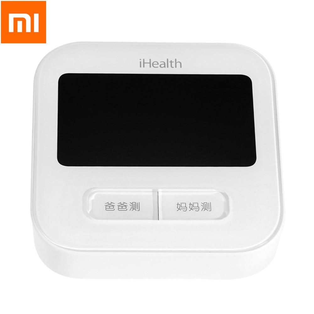 Оригинальный Xiaomi BPM1 IHealth Smart крови Давление монитор Bluetooth 4,0 WiFi Управление цифровой плечевой сфигмоманометр