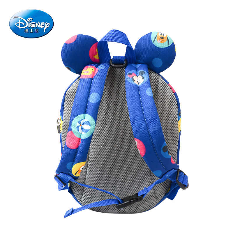 ... Disney Baby Backpack Toddler Anti Lost Backpack Mickey Minnie Cartoon  Wrist Link Children Schoolbag Walking Leashes ...