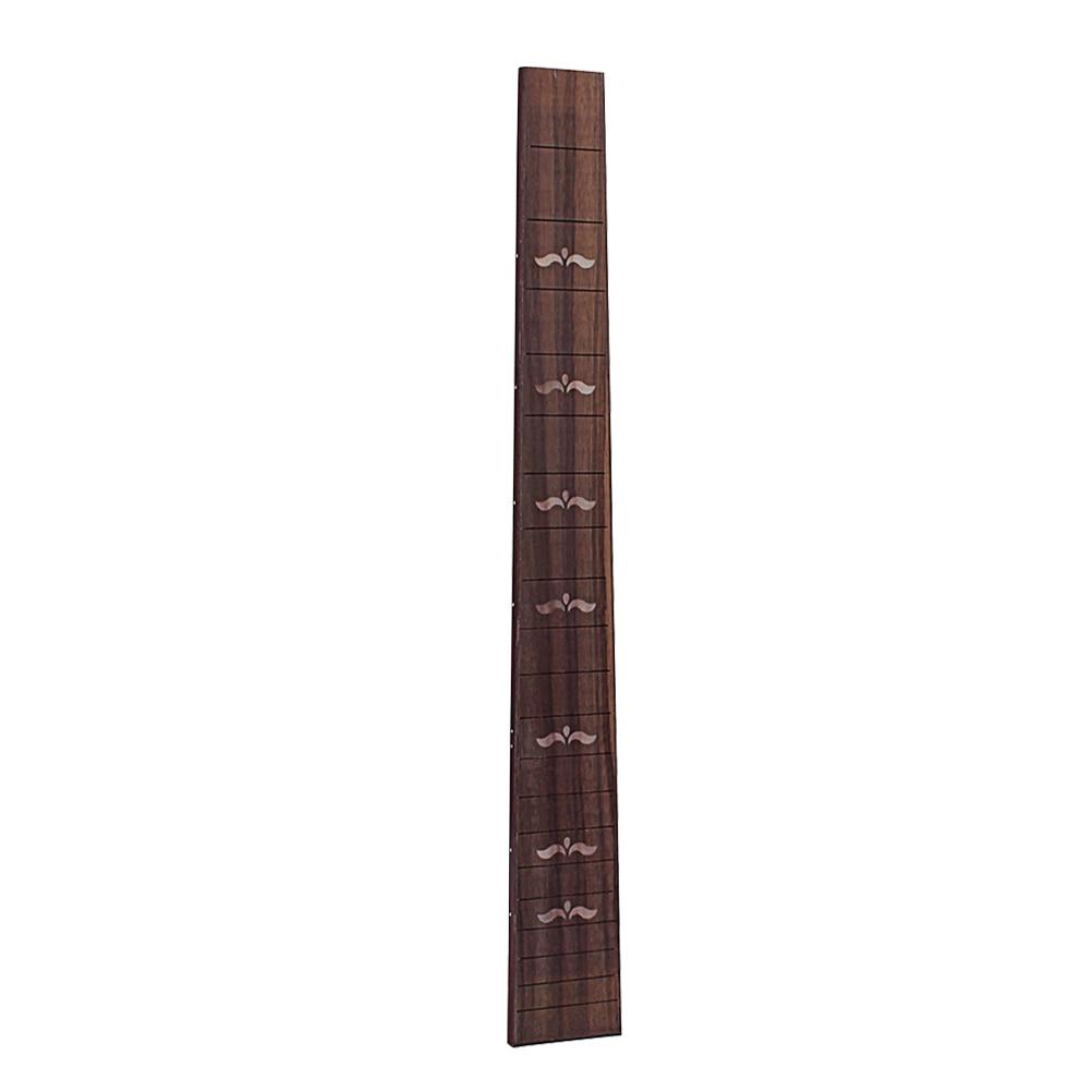 Sunny Rosewood Swallow Pattern Ukulele 20 Fret Fretboard Fingerboard For Ukulele Soprano Ukulele Hawaii Guitar Accessory Gsd102a Stringed Instruments Musical Instruments