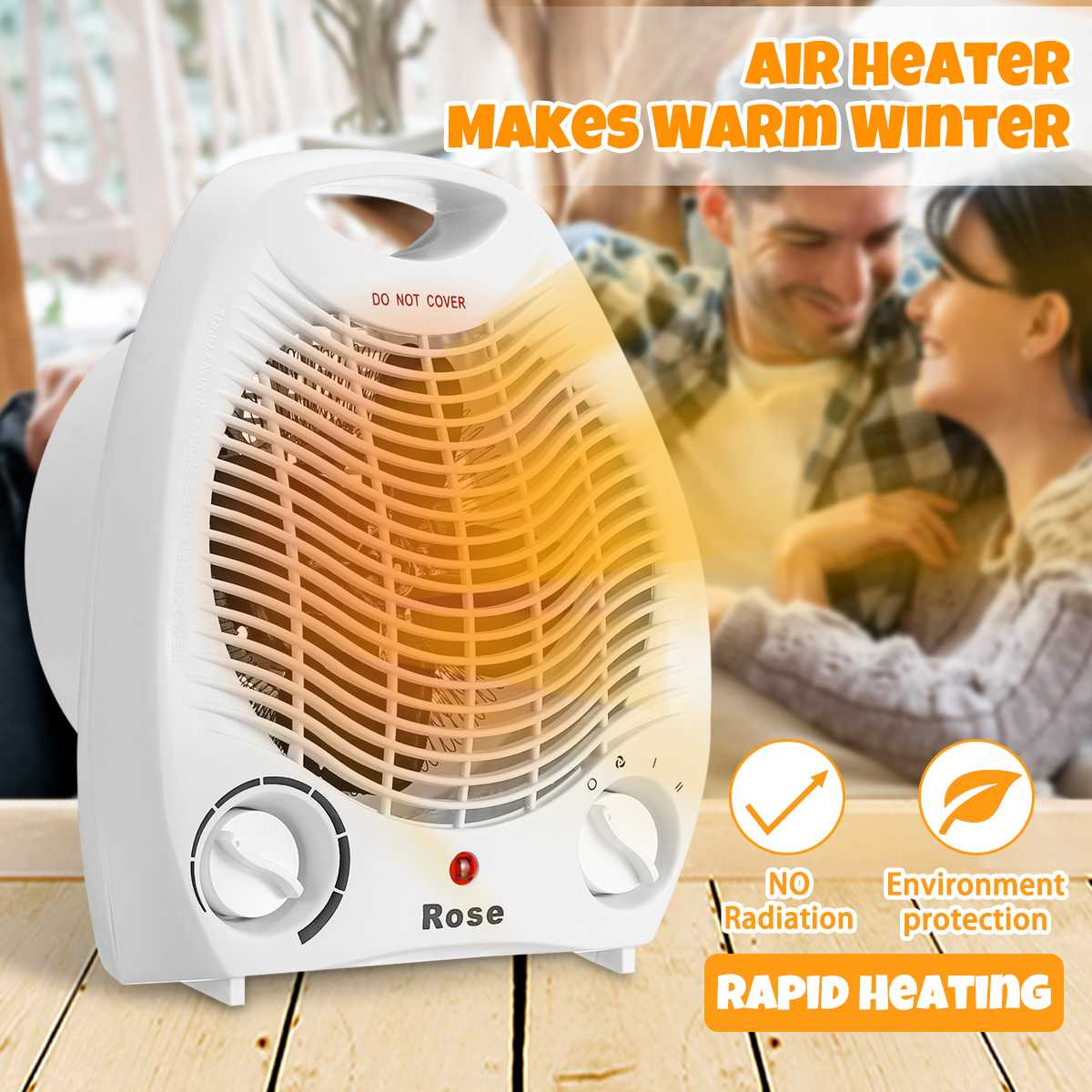 2000W Electric Fan Room Heater 220V Portable Electric Space Heater Mini 3 Heating Settings Air Heating Space Winter Warmer Fan2000W Electric Fan Room Heater 220V Portable Electric Space Heater Mini 3 Heating Settings Air Heating Space Winter Warmer Fan