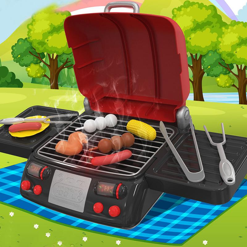 Electric Grill Pretend Play Toy
