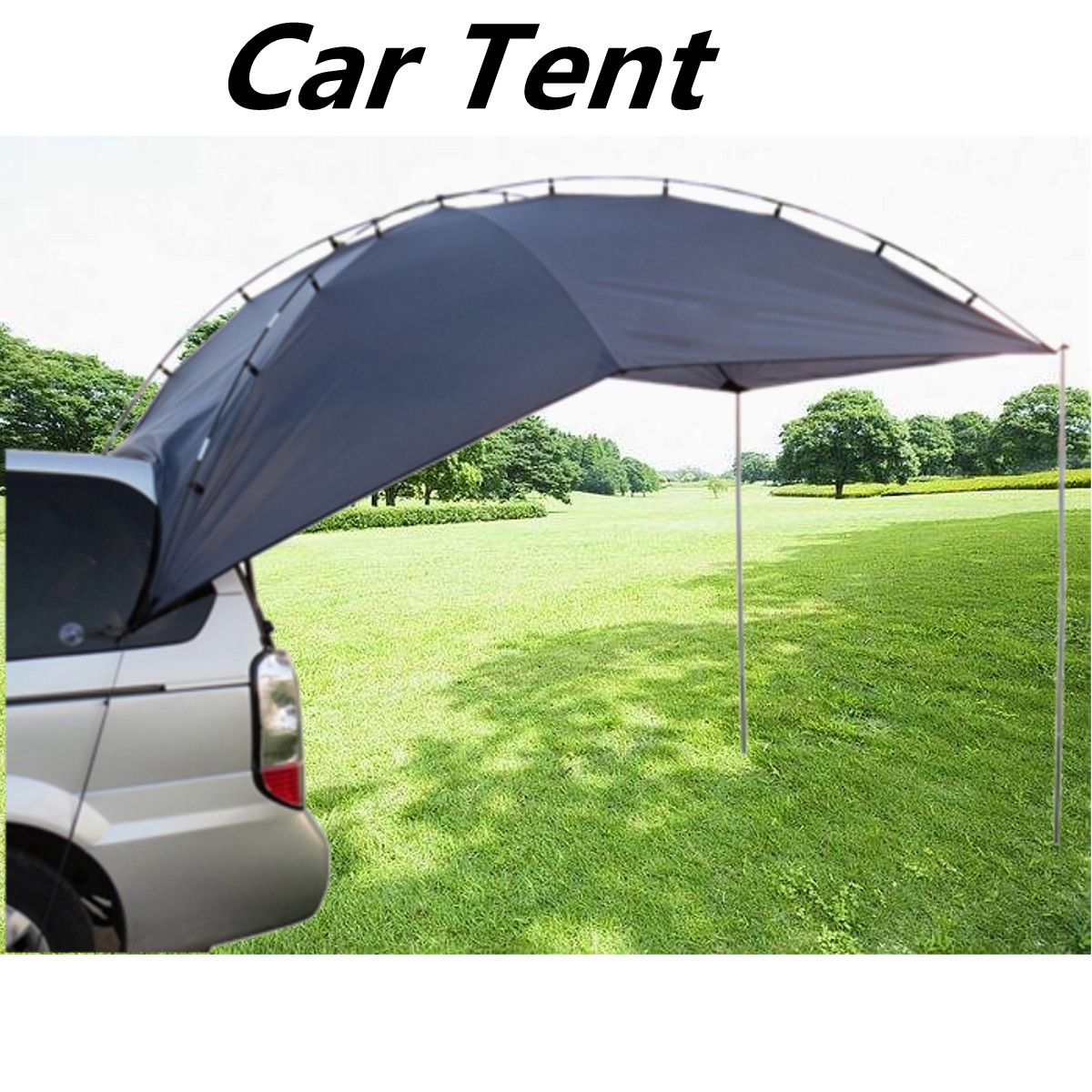 portable tent car roof outdoor equipment camping car tent canopy car tail ledger car awning in