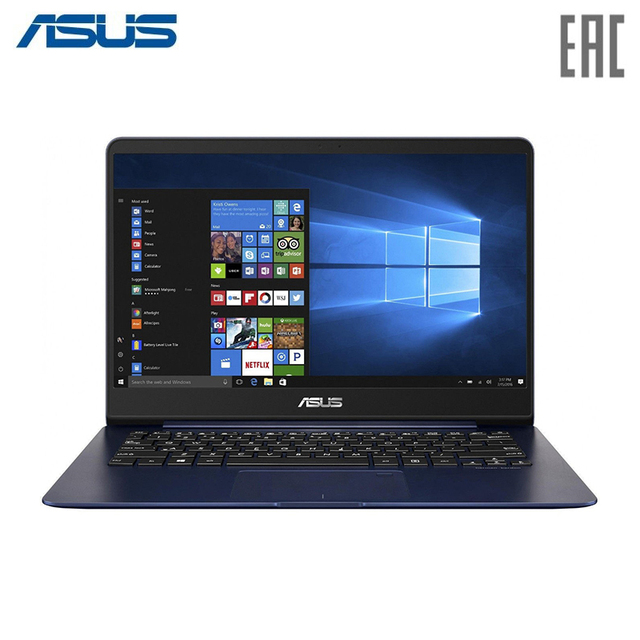 Ноутбук ASUS UX430UA (Q4 Special) Intel i5-8250U/8Gb/256Gb SSD/14.0'' FHD IPS Anti-Glare/Windows 10 Blue Metal (90NB0EC5-M09430)