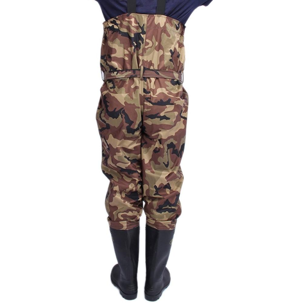 Outdoor Camouflage Jacht Landbouw broek Euro 38-47 Mannen Waterdicht Anti-wear Steltlopers Broek Laarzen Vissen Jarretel Jumpsuit a9252
