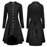Long Dress Coat Jacket Woman Causal Slim A Line Outwear Dress Tops Coats Irregular Hem Back Lace up Bandage Trim Coat Plus Size