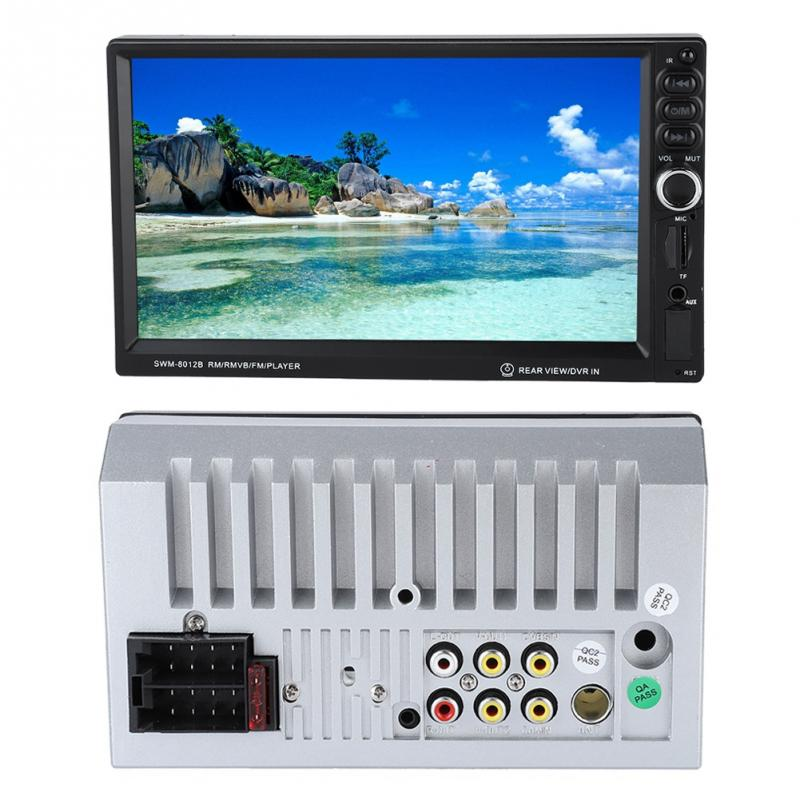 Vornehm 7 Inch Hd Mp5-8012b Auto Bluetooth Mp5 Mp3 Player Touch Screen Auto Multimedia 2019 Neue Mp4 Player