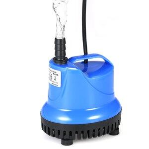 25w 1800l/h bomba de água submersível mini fonte bomba para aquário tanque de peixes lagoa água jardins sistemas hidropônicos com bocal