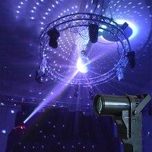 DMX 5W LED Beam Pinspot DJ Light Spotlight Super Bright Lamp Mirror Ball Disco Effect Stage Lighting with AC90-240V