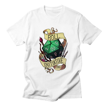 addafbe21d Roll Initiative Video Game Gaming T Shirts Dnd Dungeons Dragons D20 D D  Critical Role The Adventure
