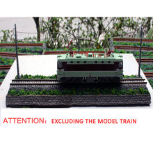 HO Type 1:87  Mini Sand Table Display Two Optional Length 50cm Without The Front