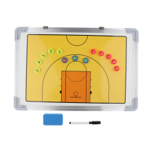 Basketball Coaching Board Tactic Training Marker for Team, Aluminum Alloy, Ultralight and Durable