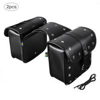 1pair Motorcycle Cruiser Hard Trunk Saddle Bag Box Side Luggage Hard Trunk Saddle Bags Side Box