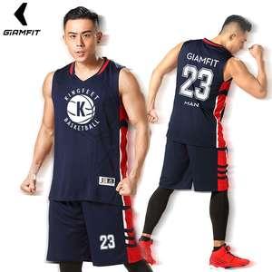 5316eed8fa5 USA Men College Basketball Jerseys Custom Basketball Uniform Sets  Professional Throwback jersey Basketball Quick Dry Sportswear