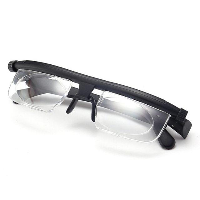 Adjustable Lens Reading Myopia Glasses Unisex
