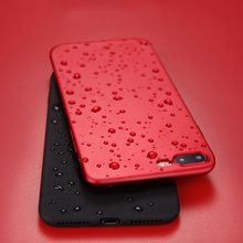 KISSCASE Ultra Thin Matte Case For iPhone 7 X 8 6 6S Plus Cover Bussiness Plain Soft TPU Phone Shell For iPhone 10 5S 5 SE Funda цена и фото