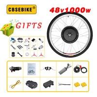 Oferta 48V 1000W Ebike Kit de conversión de bicicleta eléctrica 20 24 26 28 de 29 pulgadas