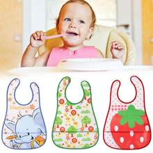 EVA Infants Feeding Bibs Care Accessories Waterproof Cute Cartoon Baby Kids 6 Months-4 Years Old Baby Girls Boys Feeding Care(China)