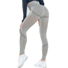 Binand Slim Fit Gym Energy Seamless Leggings Women Butt Lifting High Waisted Sports Fitness Tummy Control Yoga Pants
