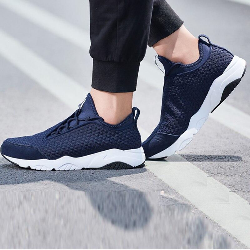 Li-ning hommes MARS chaussures de marche classiques Textile respirant baskets léger doux Fitness confort doublure chaussures de Sport AGLN017 YXB136 - 6